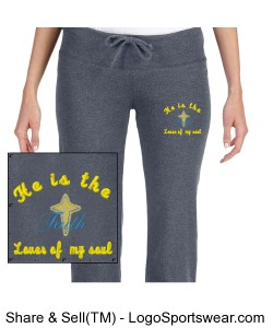 Bella Ladies Scrunch Capris Design Zoom